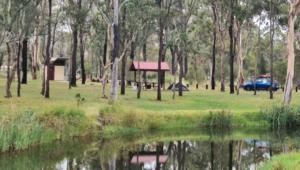 Camped at Weir Park
